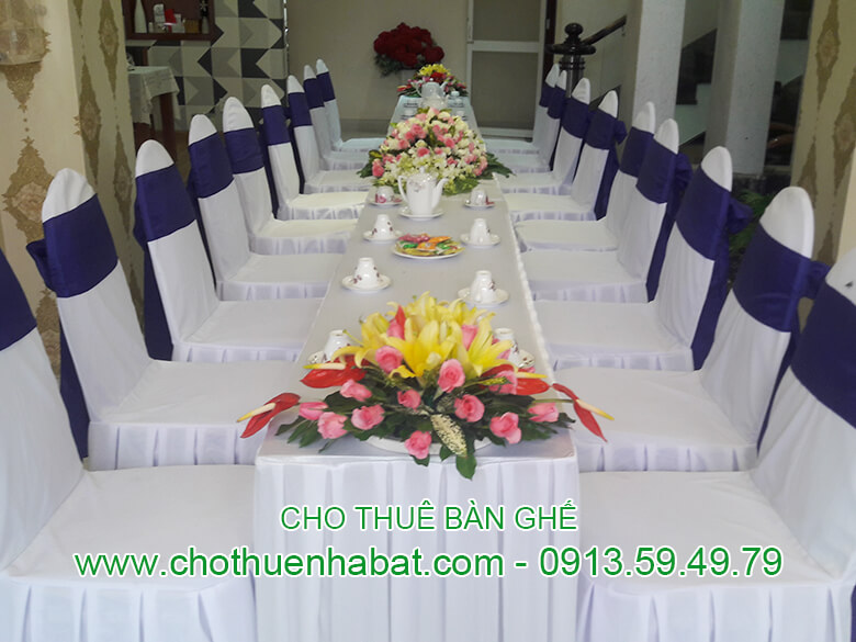 Cho Thuê Bàn Ghế