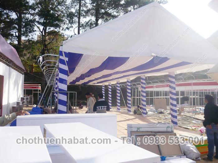 Nhà bạt - Lễ hội Festival Hoa Đà Lạt - Lâm Đồng