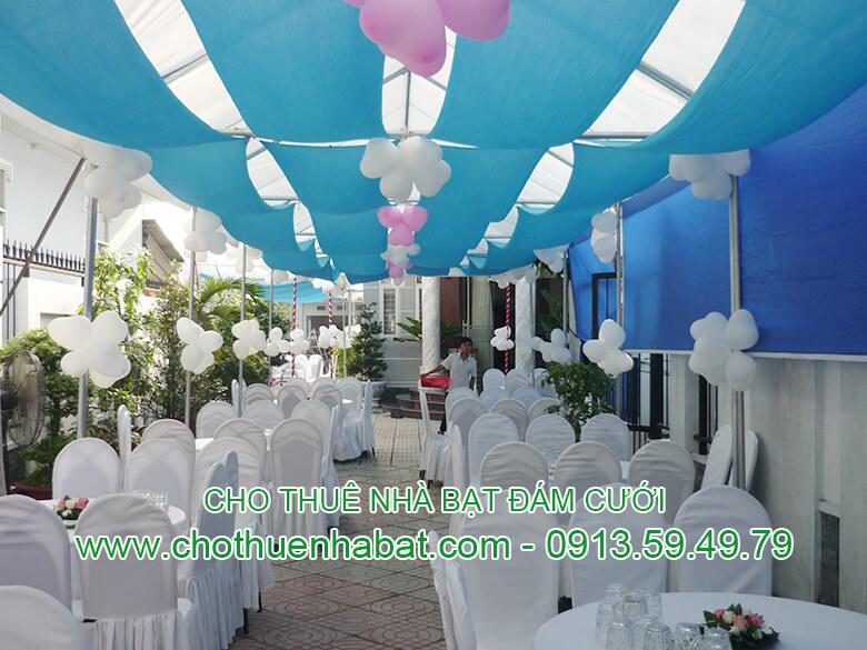 Cho thuê Nhà bạt cưới hỏi