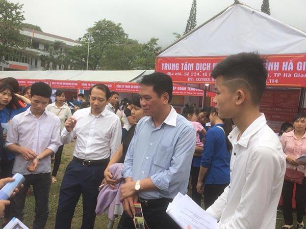 Hội chợ việc làm Bắc Giang - Hà Giang 2018