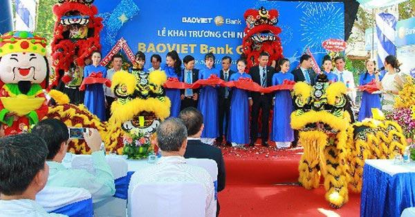 Khai trương chi nhánh Baoviet Bank Gia Lai