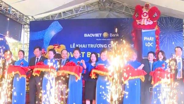 Khai trương CN Bảo Việt tại Thanh Hóa