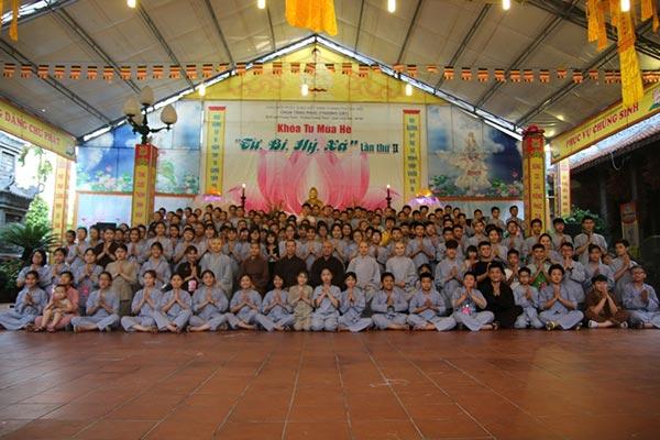 Bế mạc khóa tu mùa hè 2018 chùa Tăng Phúc