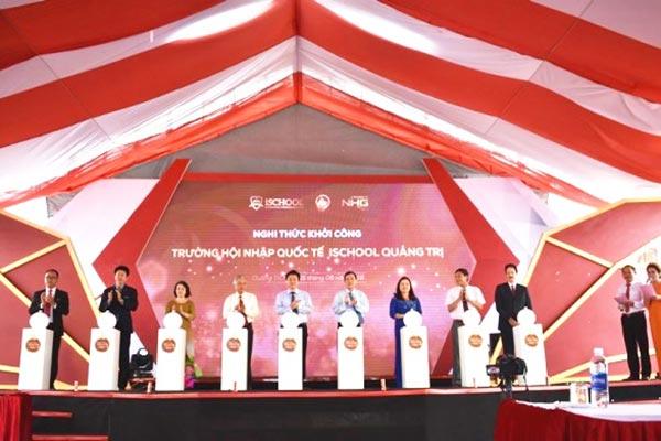 Khởi công Trường Liên cấp Hội nhập Quốc tế iSCHOOL Quảng Trị