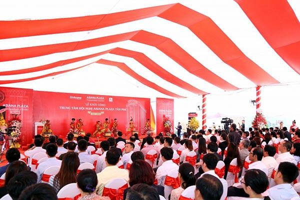 Khởi công TT hội nghị Asiana Plaza Tân Phú