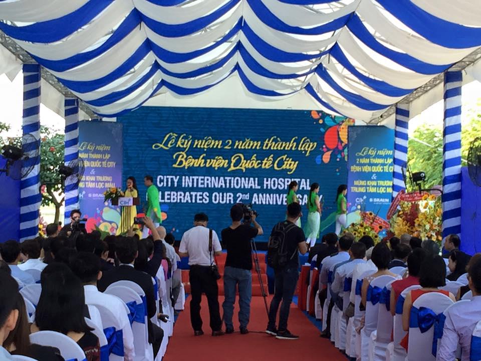 Lễ kỷ niệm 2 năm thành lập Bệnh viện quốc tế City