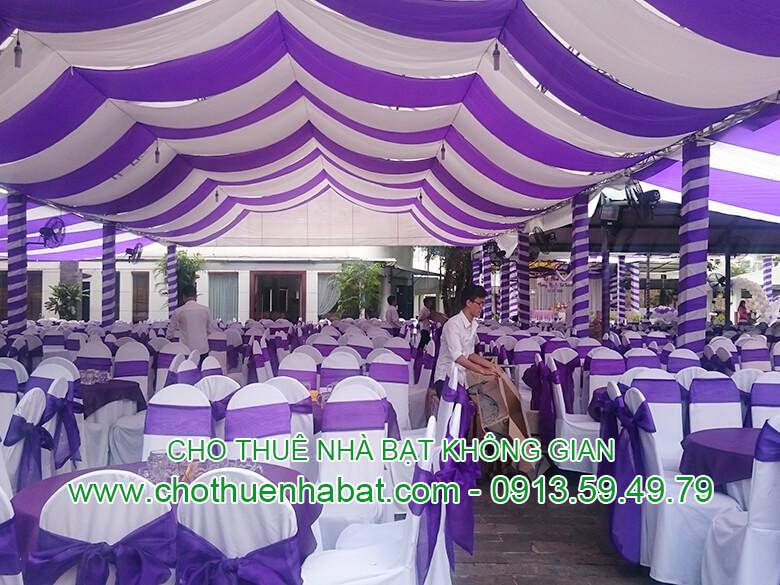Nhà bạt không gian-KCN Đồng An- Thuận An- Bình Dương