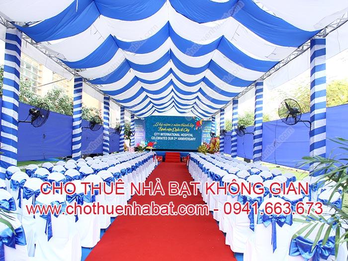 Cho thuê nhà bạt - Bệnh viện quốc tế City - Quận Bình Tân TPHCM
