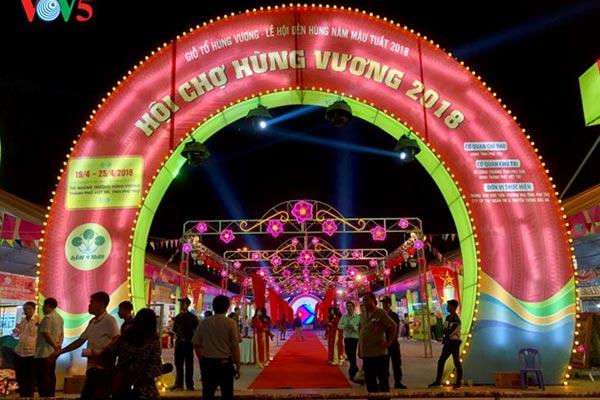 Hội chợ Hùng Vương 2018