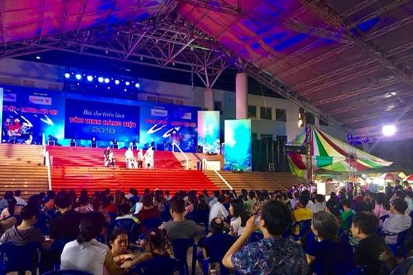 Hội chợ Triển lãm tôn vinh hàng Việt 2018