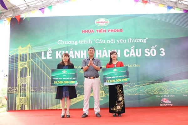Khánh thành cầu Nà Ui Lai Châu