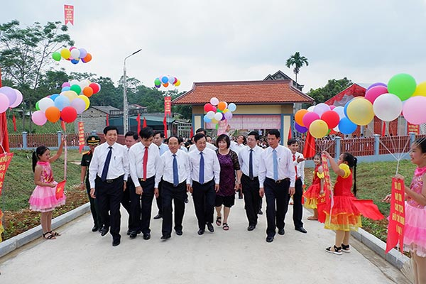 Phú Thọ Khánh thành di tích lưu niệm Hồ Chí Minh