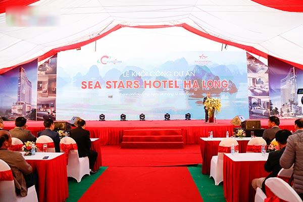 Khởi công dự án Sea Stars Hotel Hạ Long