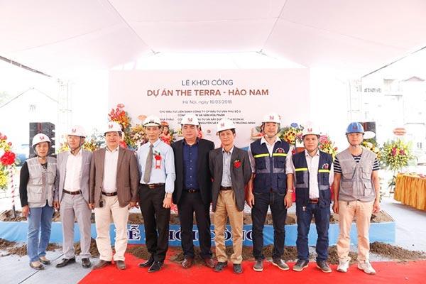 Khởi công dự án The Terra Hào Nam