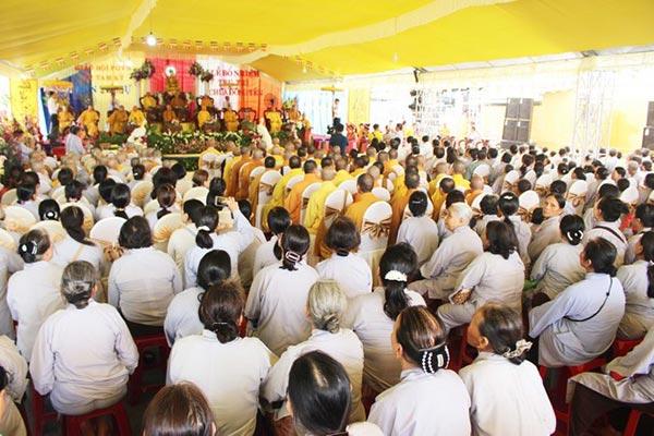 Lễ bổ nhiệm trụ trì chùa Đông Yên
