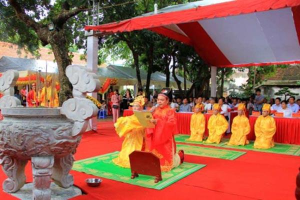 Lễ hội Lam Kinh 2018