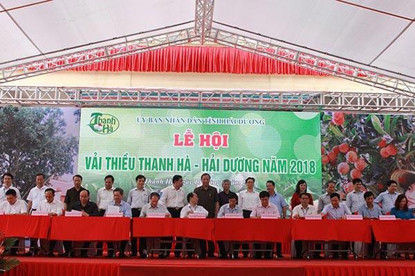 Lễ hội vải thiều Thanh Hà Hải Dương