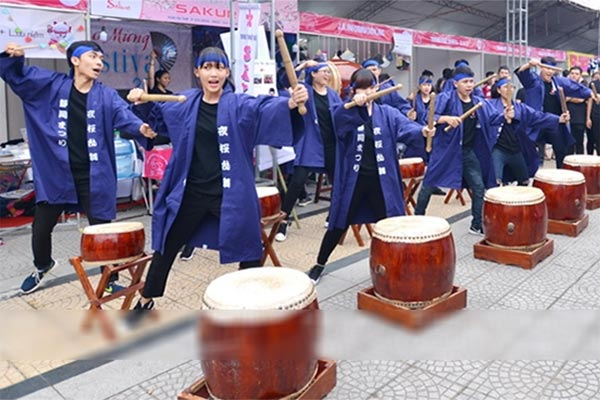 Lễ hội giao lưu văn hóa Việt Nhật 2018