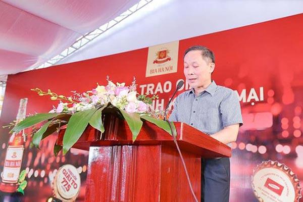 Trao giải CTKM Bia Hà Nội 2018