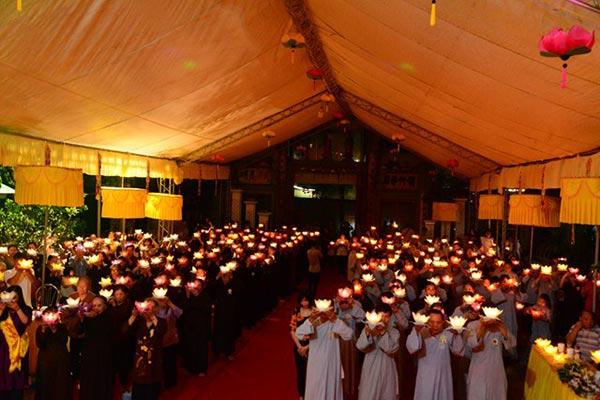 Lễ Vu Lan 2018 chùa Nghĩa Lộ