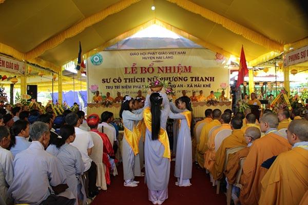Lễ Bổ nhiệm trụ trì chùa Trung An