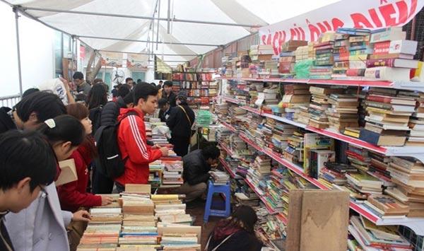Lễ hội sách cũ Thăng Long 2018