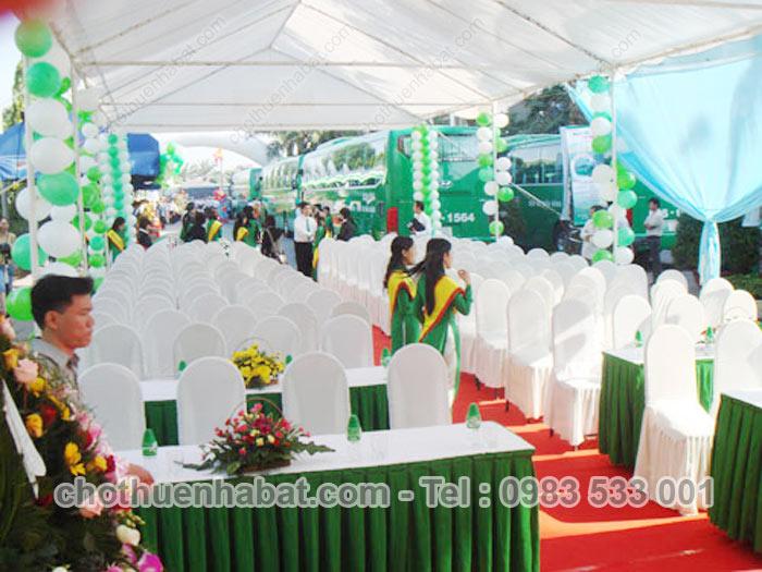 Nhà Bạt - Mai Linh Express khai trương xe Huyndai