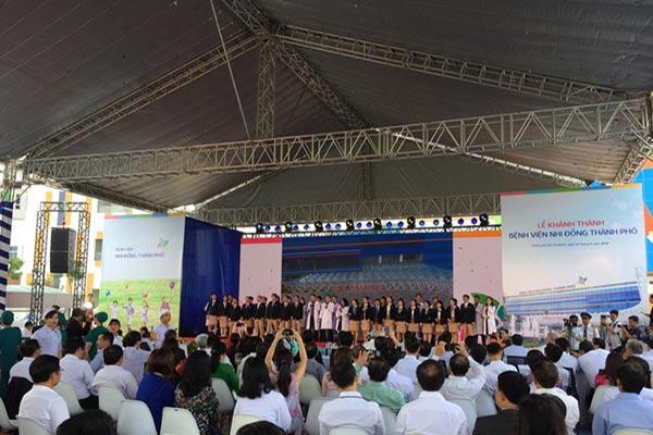 TPHCM khánh thành Bệnh viện Nhi Đồng