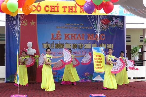 Tuần lễ học tập suốt đời THCS Nguyễn Hàm Ninh