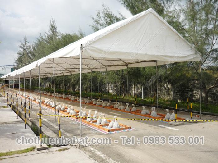 Nhà bạt - Xi măng Công Thanh, Nhơn Trạch-Đồng Nai
