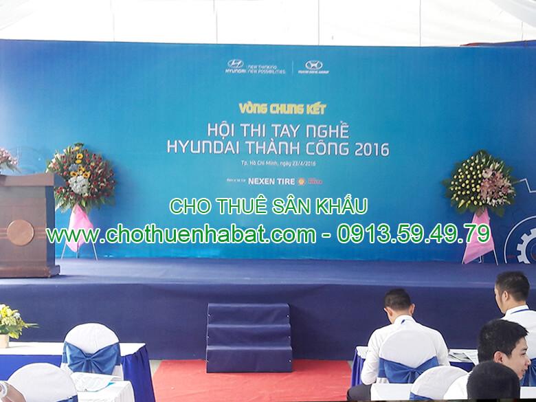 Cho Thuê Sân Khấu Cty. Huyndai Việt Nam