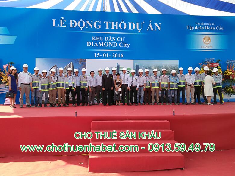 Cho thuê Sân khấu- Đồng Nai