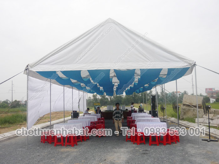 Nhà bạt cùng Lễ mở bán dự án Sunview Town của Đất Xanh